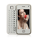 yphone 168 Dual TV qwerty carte wifi java 3.2 pouces mobile  cran tactile blanc (carte 2GB TF) (sz09890105)