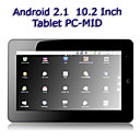 10 inch HD touchscreen Android 2.1 tablet met wifi (1 GHz processor)
