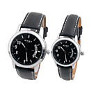 EYKI Japnese Quartz Movement Round Case Couple His-and-hers Watches(0449-W8408GL)