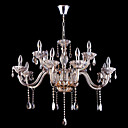 12-light Bright Chrome K9 Crystal Chandelier (1069-J9860-D12)