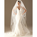 1 Layer Chapel Length Wedding Veil 280cm Length