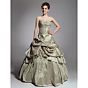 Ball Gown Sweetheart Floor-length Taffeta Prom/ Evening Dress