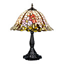 16 Inch Tiffany-style Floral Pattern Table Lamp (0835-G163031)