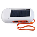 Solar Power with LED Flashlight & FM Radio