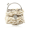 Gorgeous Satin Shell Evening Handbags/ Clutches/ Top Handle Bags More Colors Available