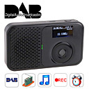 dab portátil e rádio DAB + digital com fm RADIO/MP3