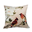 Cushion Cover-Brush Painting bird V