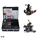 Complete Set Tattoo Kits With 2 Guns   Superior LCD Power Supply and Ink 8*15ml