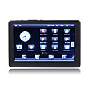 5 pollici touchscreen 2,2 anroid media player (8gb, bianco / nero)