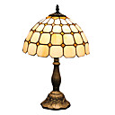 Tiffany Style Gien Check Pattern Stained Glass Table Lamp
