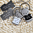 Personalized Key Ring - Tang Suit Bear (set of 6 pairs)