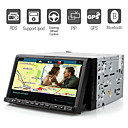 7 Inch Digital Screen Car DVD Player with GPS Bluetooth ISDB-T RDS