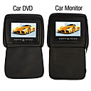 7 Inch Car DVD Player and Monitor with Game System USB/SD (1 Pair)