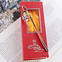 Beijing Opera Mask Bookmark Favor (Set of 4)