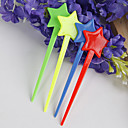 Plastic Star Tip Hor d'oeuvre Forks (Set of 50)