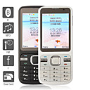 moderner Klassiker Dual-SIM Touchscreen Handy (Java, WLAN, Bluetooth, mp3)