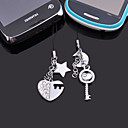 Cell Phone Charms with (set of 6 pairs)