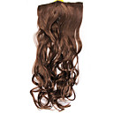 Fashion Brown Curly Clip In Hair Extension