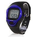 Calorie Counter Pulse Heart Rate Monitor Stop Automatic Watch - Blue