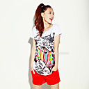 ts zebra colorida t-shirt