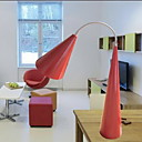 Modern Table Light in Red