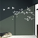 Branch and Birds Wall Stickers (1985-P52)