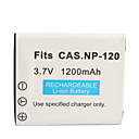 1200mAh Camera Battery NP-120 for Finepix F10,F11,M603,MX4,MX550