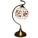 Artistic Tiffany Style Table Light with Floral Pattern