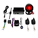 2-Way LCD Car Alarm System + 3000m Super Remote Distance + Anti-Hijack
