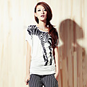 ts zebra impressos t-shirt