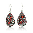 Red Drop Earring