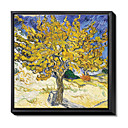 Framed Canvas Print by Vincent Van Gogh