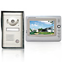 7 Inch Recordable Video Door Phone with Alloy Weatherproof Cover Camera
