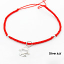 Lovely Girl Red Rope Bracelet