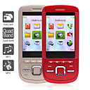 dual sim slide phone 2,4 pollici (bluetooth, mp3, mp4)