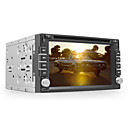 DVD Player Automotivo 2 Din 6.2 polegadas GPS iPod Bluetooth TV RDS
