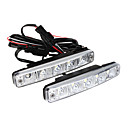 Car Daytime Running Light/Fog Light (5 LED, White Light)