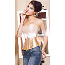 Satin Strapless Corsets Special Occasion Shapewear