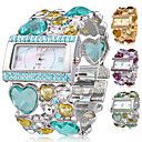Colorful Jewel Golden Women's Watch