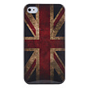 Vintage British UK Flag Pattern Hard Case for iPhone 4/4S (Union Jack)