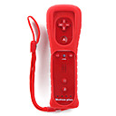 2-in-1 MotionPlus Remote Controller + Case for Wii/Wii U (Red)