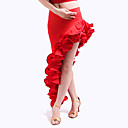 traje de flamenca con volantes viscosa dancewear falda para las damas