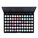 doux chatoiement des couleurs de maquillage des yeux 72 palette d'ombre