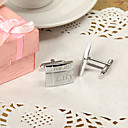 Personalized Cross Line Cufflinks