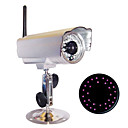 Waterproof All Metal Outdoor IP Wireless Camera, 24 IR Night Vision LED