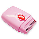 Mini Plastic Underarm & Leg Hair Shaver for Women (Pink)