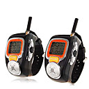 20 canaux poignet montre talkie walkie avec un style rtro grand cran lcd