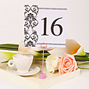 Square Table Number Card  Vintage Vines (Set of 10)