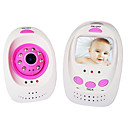 "2,4 GHz Wireless-Digital-Infrarot-Nachtsicht Baby-Monitor mit 2,4 ""TFT LCD"