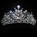 respingo de strass tiara de casamento